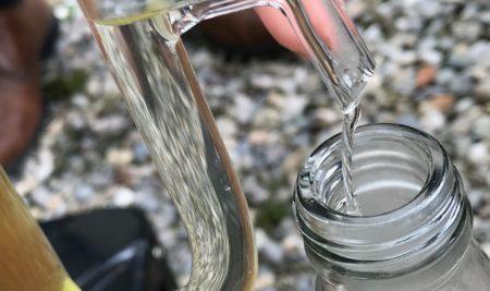 Hydrolat et eau florale